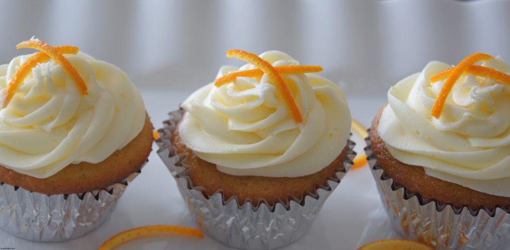 Orange Cake Icing Recipes: Fresh Orange Cupcakes With Orange Cream Cheese Frosting