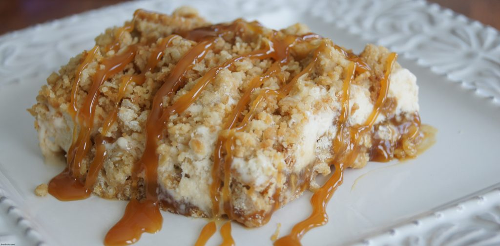 Caramel Crunch Ice Cream Dessert