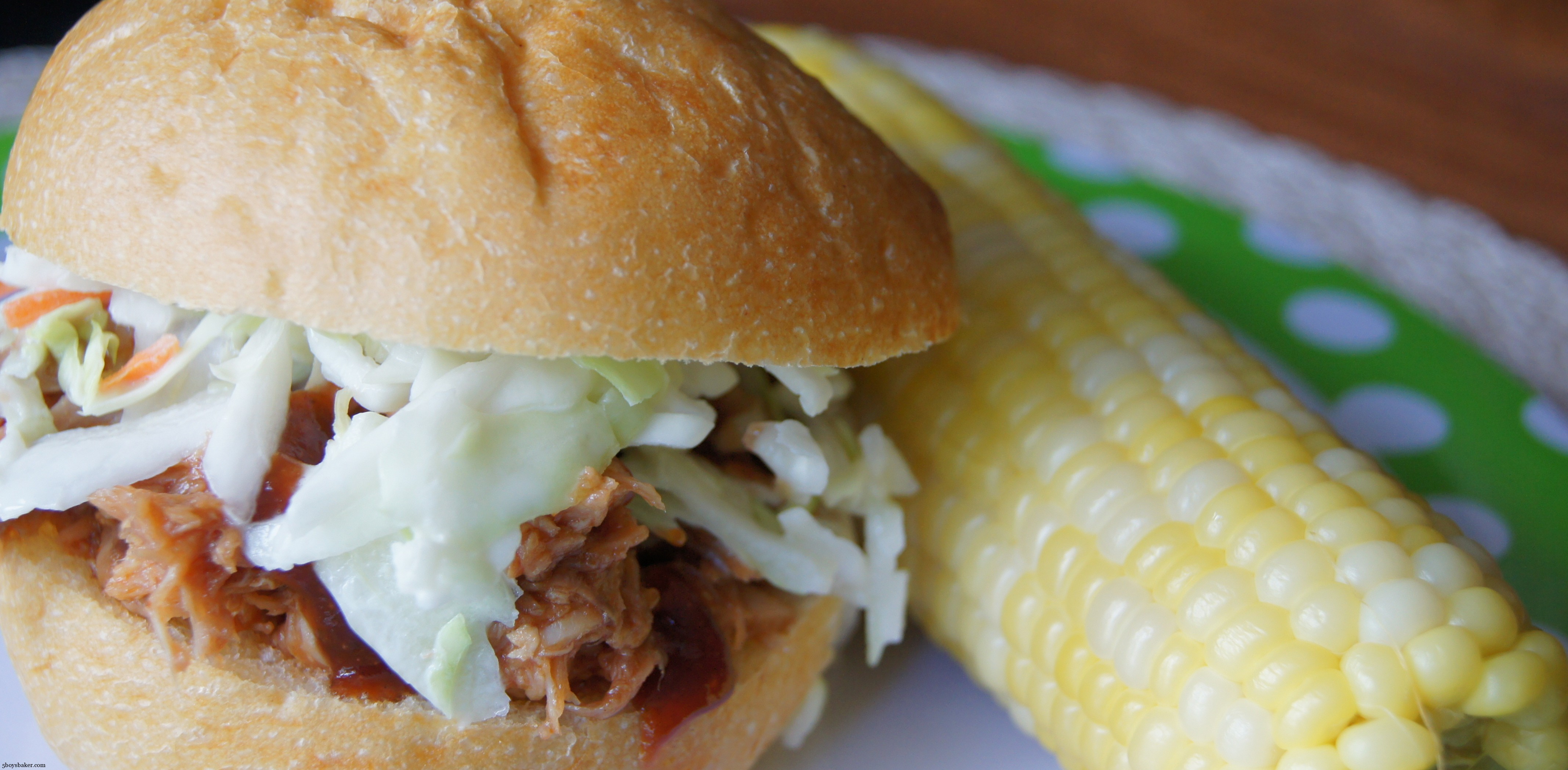 Pulled Pork Sandwiches with Coleslaw - 5 Boys Baker