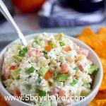 white bowl filled with Doritos dip