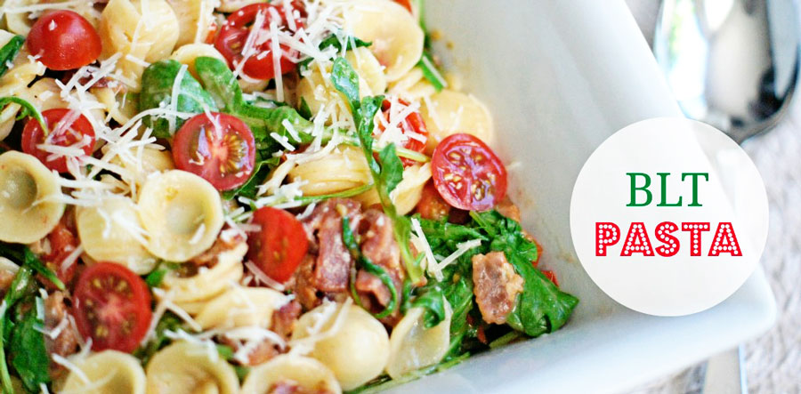 Bowl of BLT Pasta