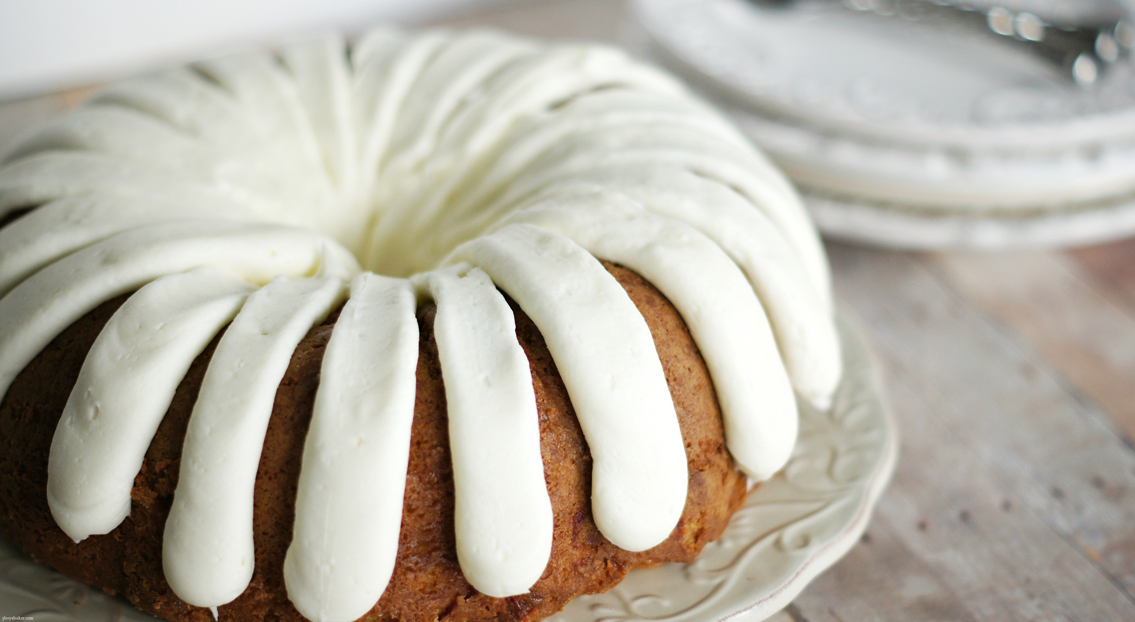 White Chocolate Frosting For Bundt Cake