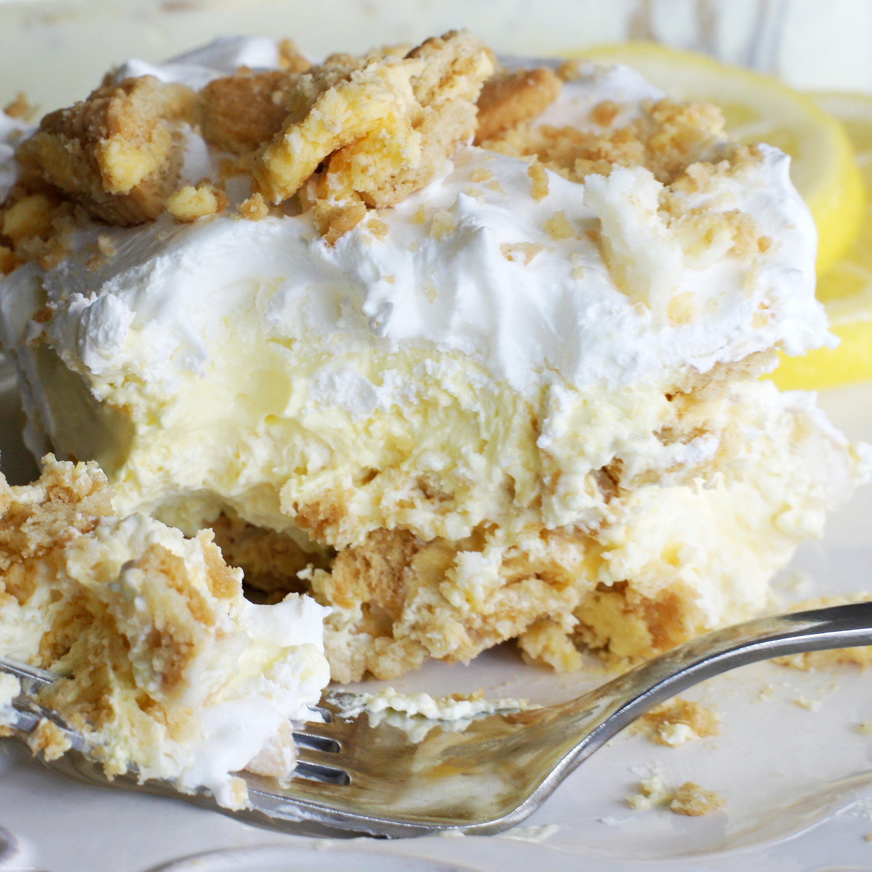 No Bake Golden Oreo Lemon Dessert 5 Boys Baker