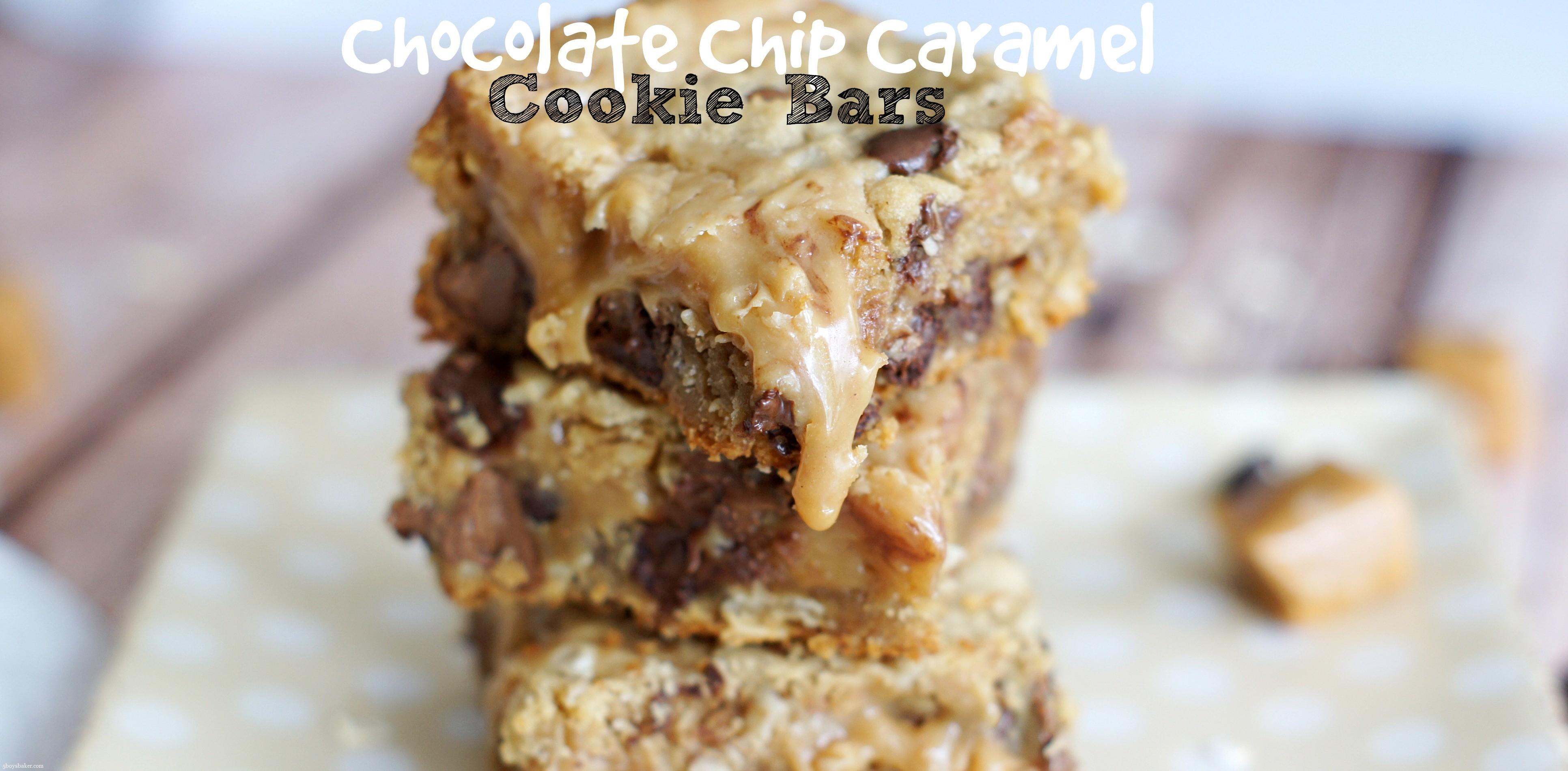 Chocolate-Caramel Cookie Bars Recipes — Dishmaps