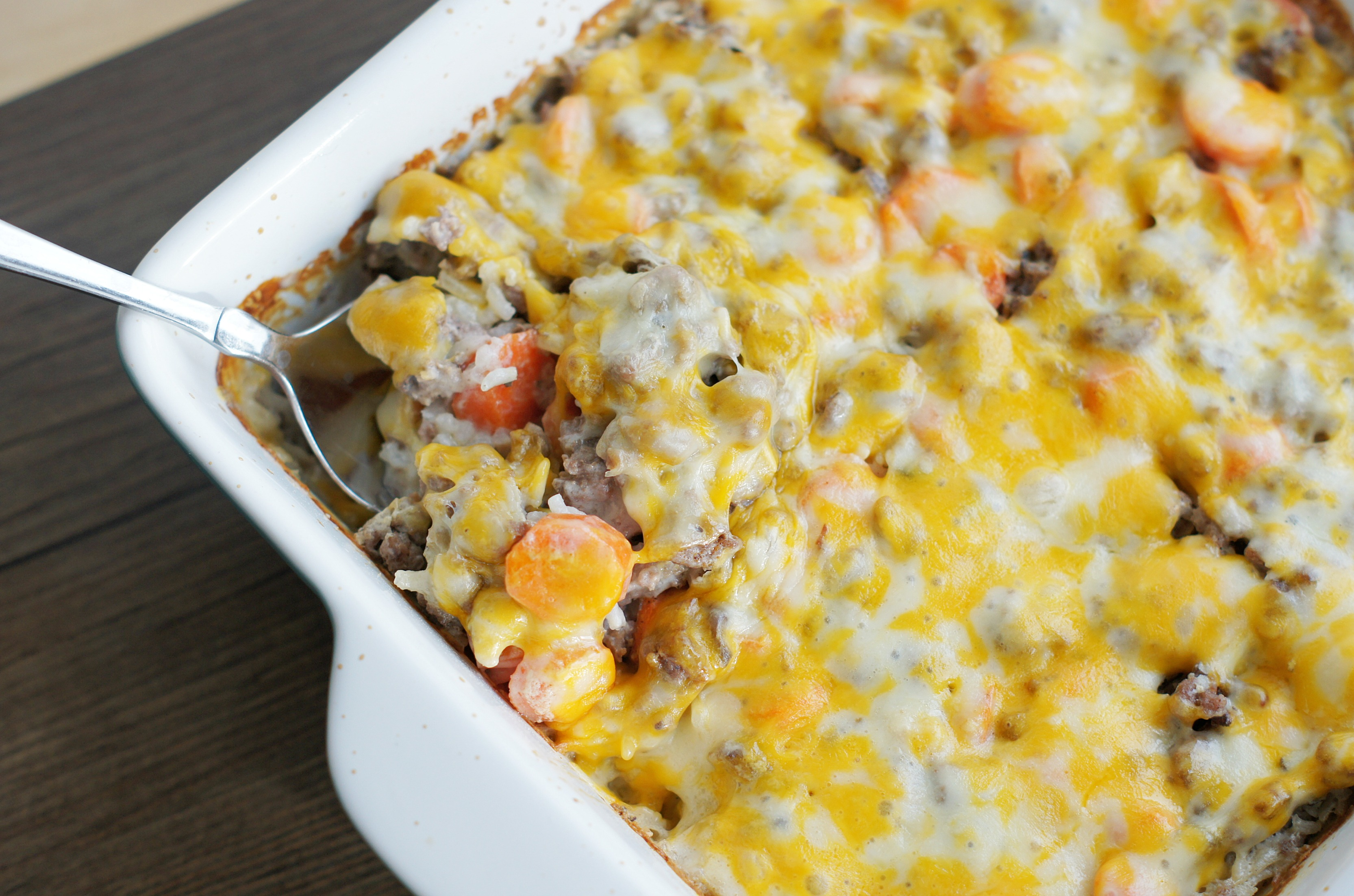 Easy ground beef rice casserole recipes