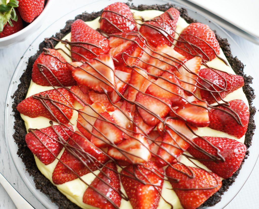 strawberry cream pie 5boysbaker