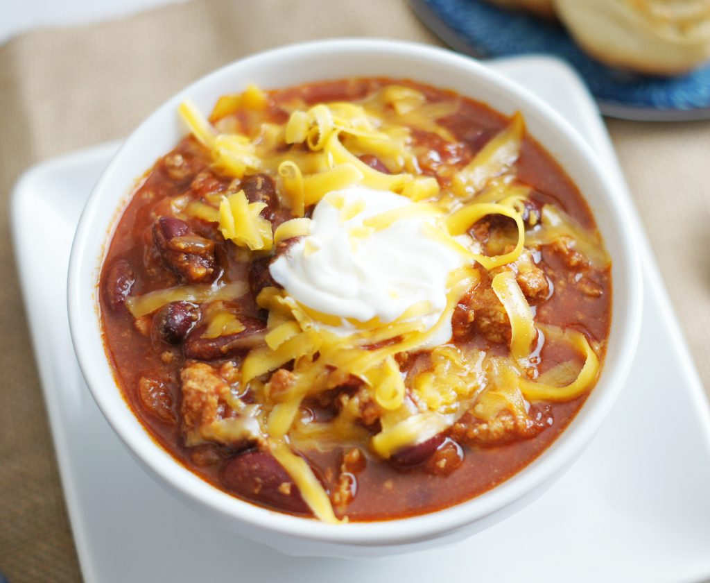 turkey chili - slow cooker