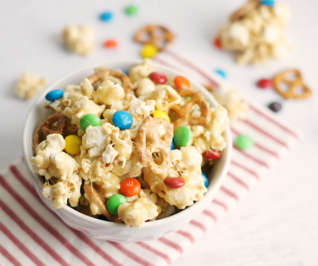 sweet & salty marshmallow popcorn