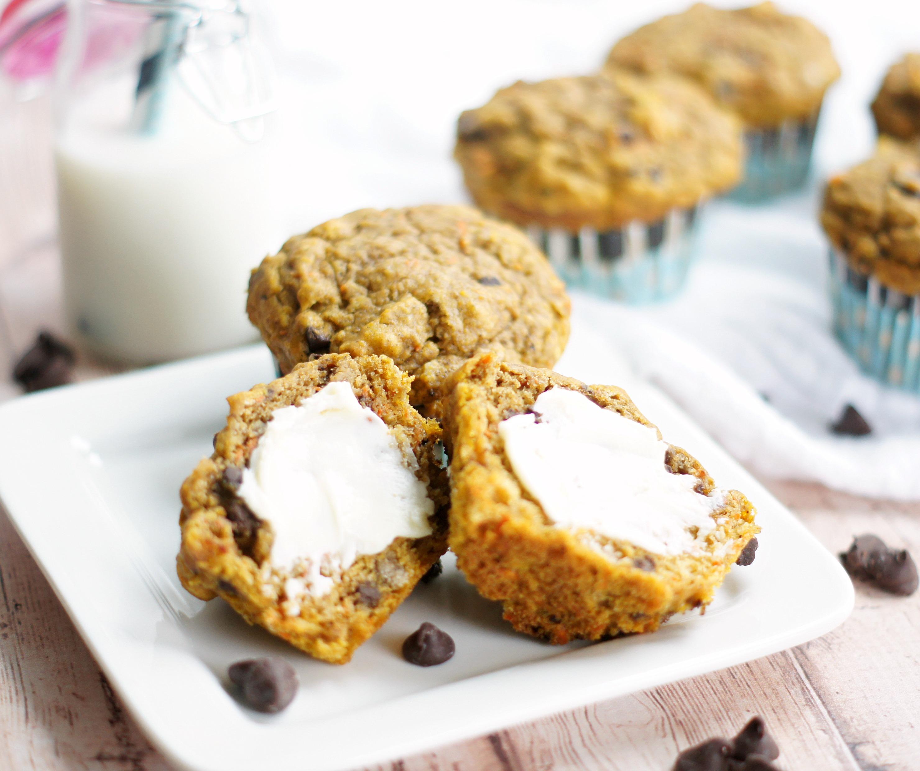 Lowfat pumpkin spice muffins