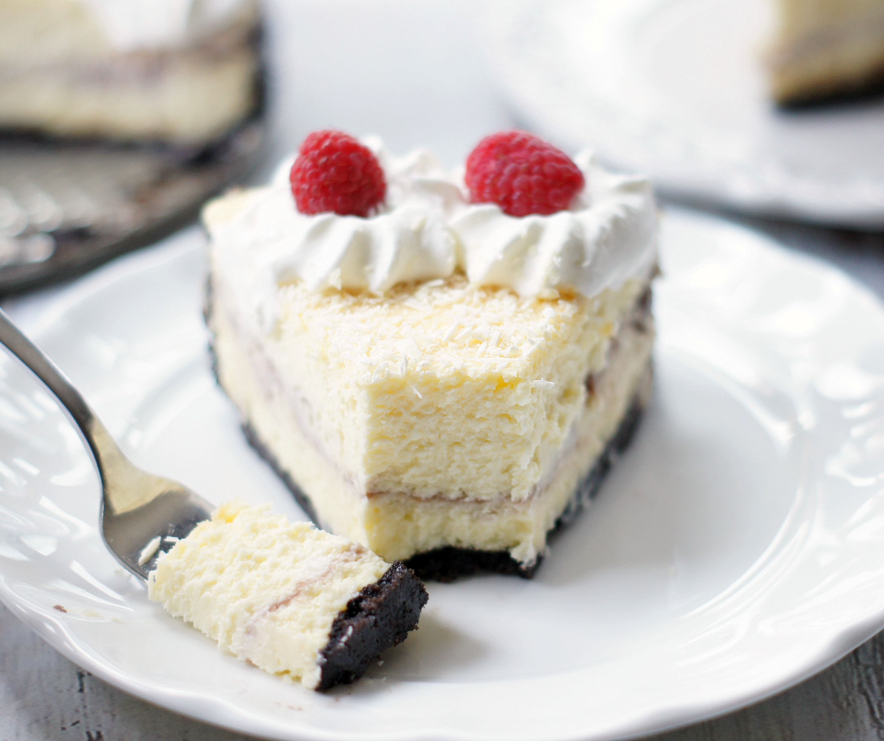 White Chocolate Raspberry Cheesecake {Cheescake Factory Copycat ...