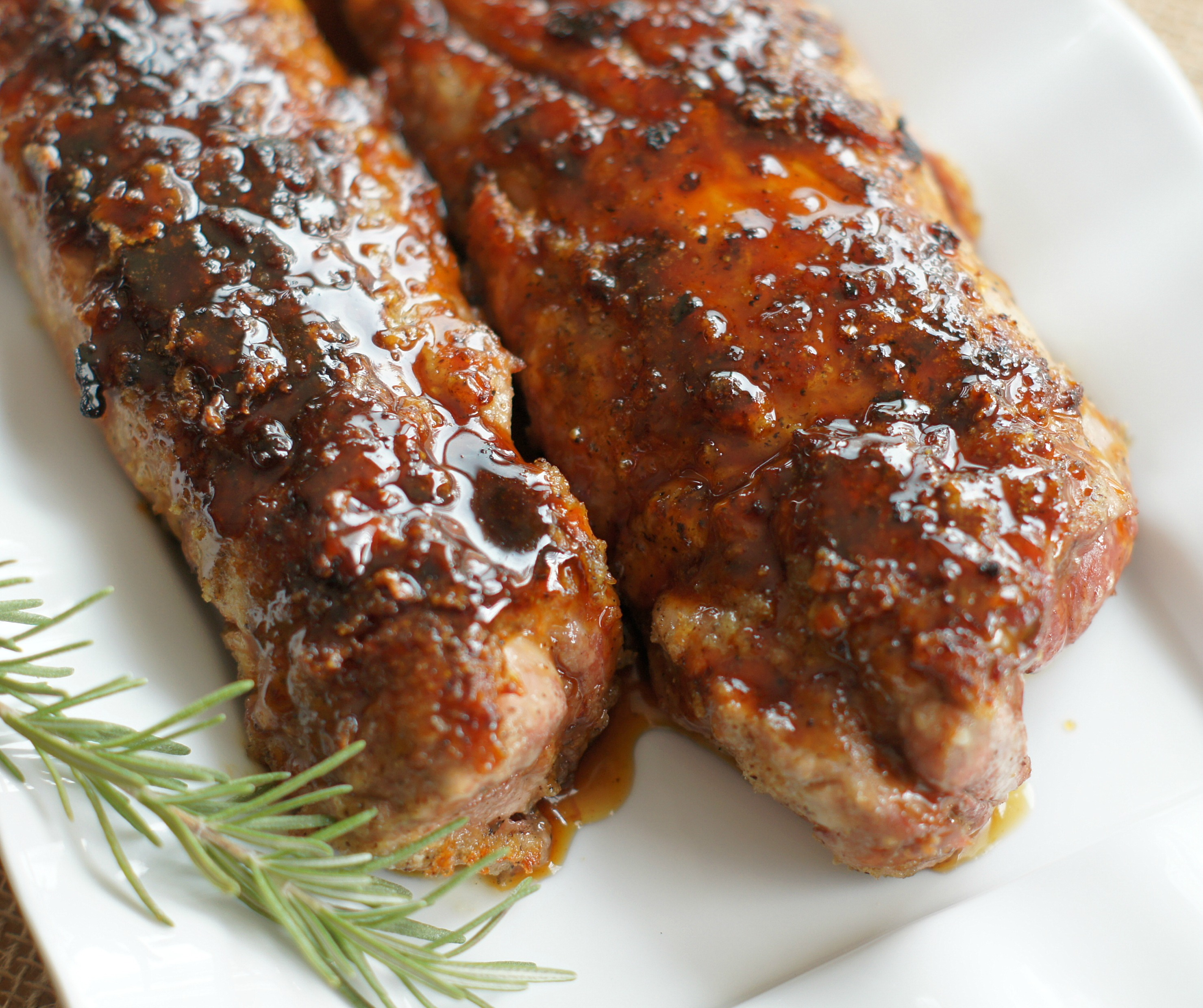 Roasted Pork Tenderloin: Roasted Maple-Glazed Pork Tenderloin