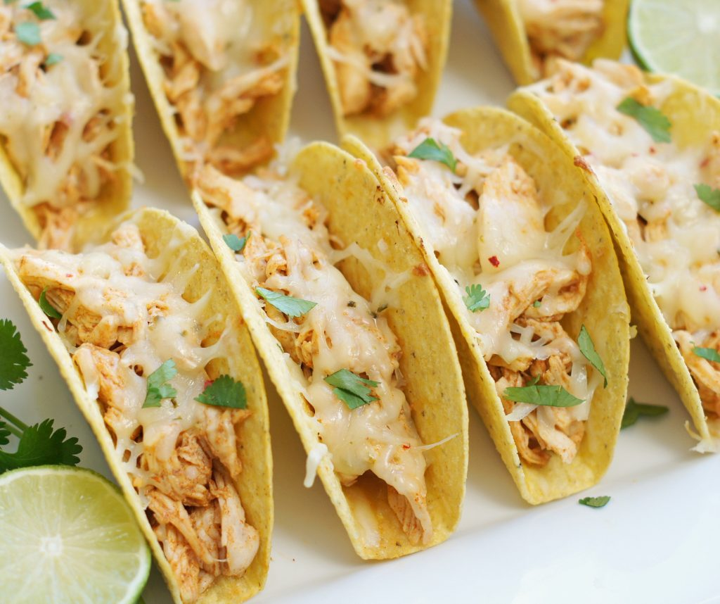 baked honey lime chicken tacos