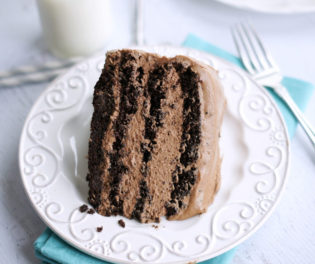 Chocolate Mousse Layer Cake - 5BoysBaker