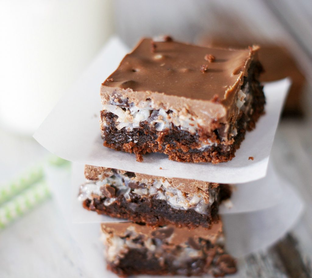 chocolate peanut butter fantasy bars