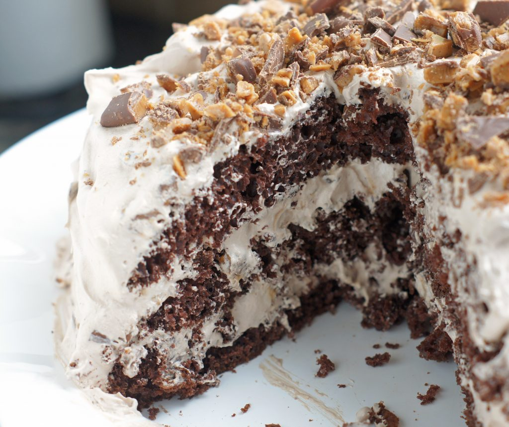 North Pole Toffee Cake