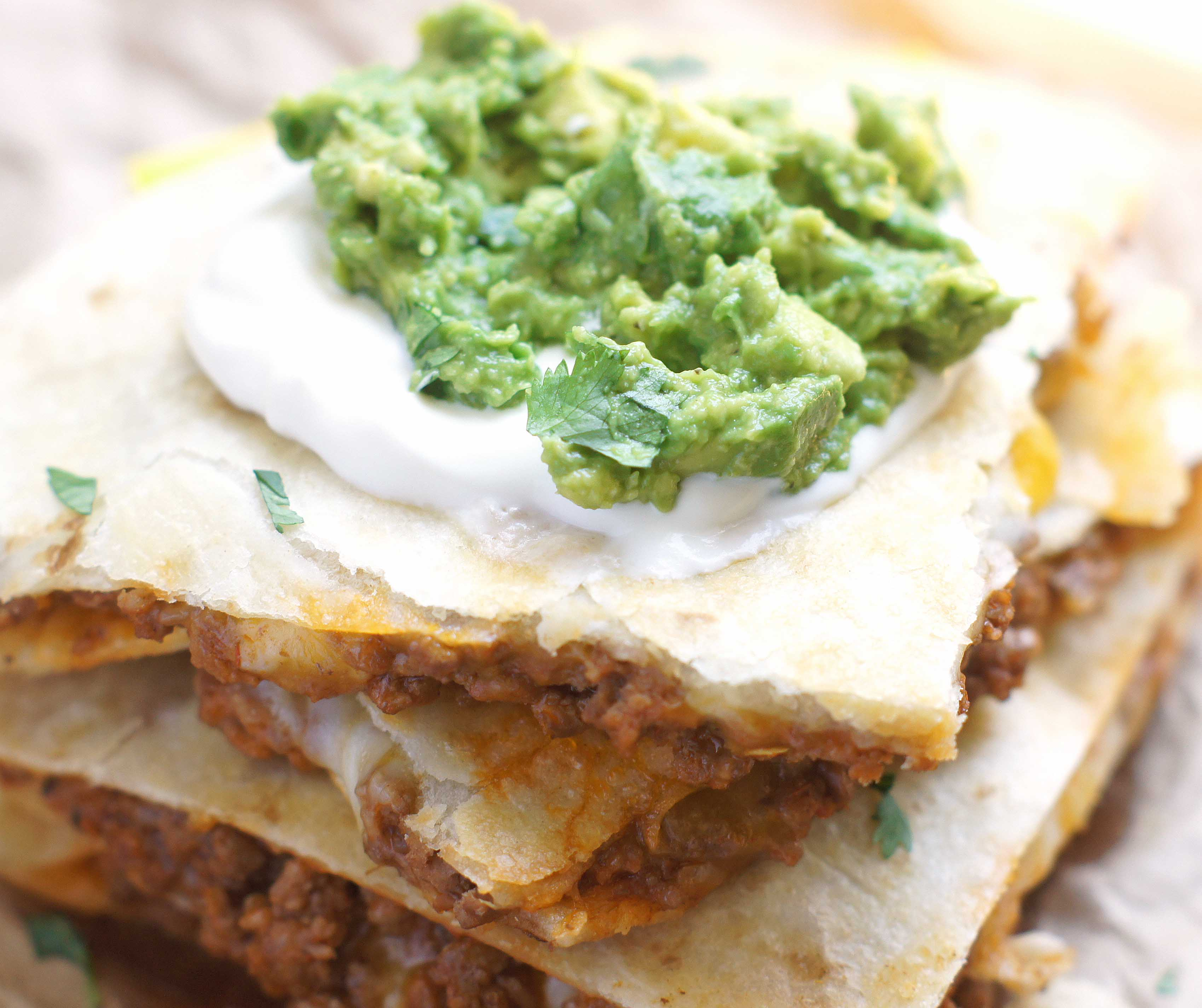 Cheesy ground beef quesadillas 5 boys baker cheesy ground beef quesadillas forumfinder Gallery
