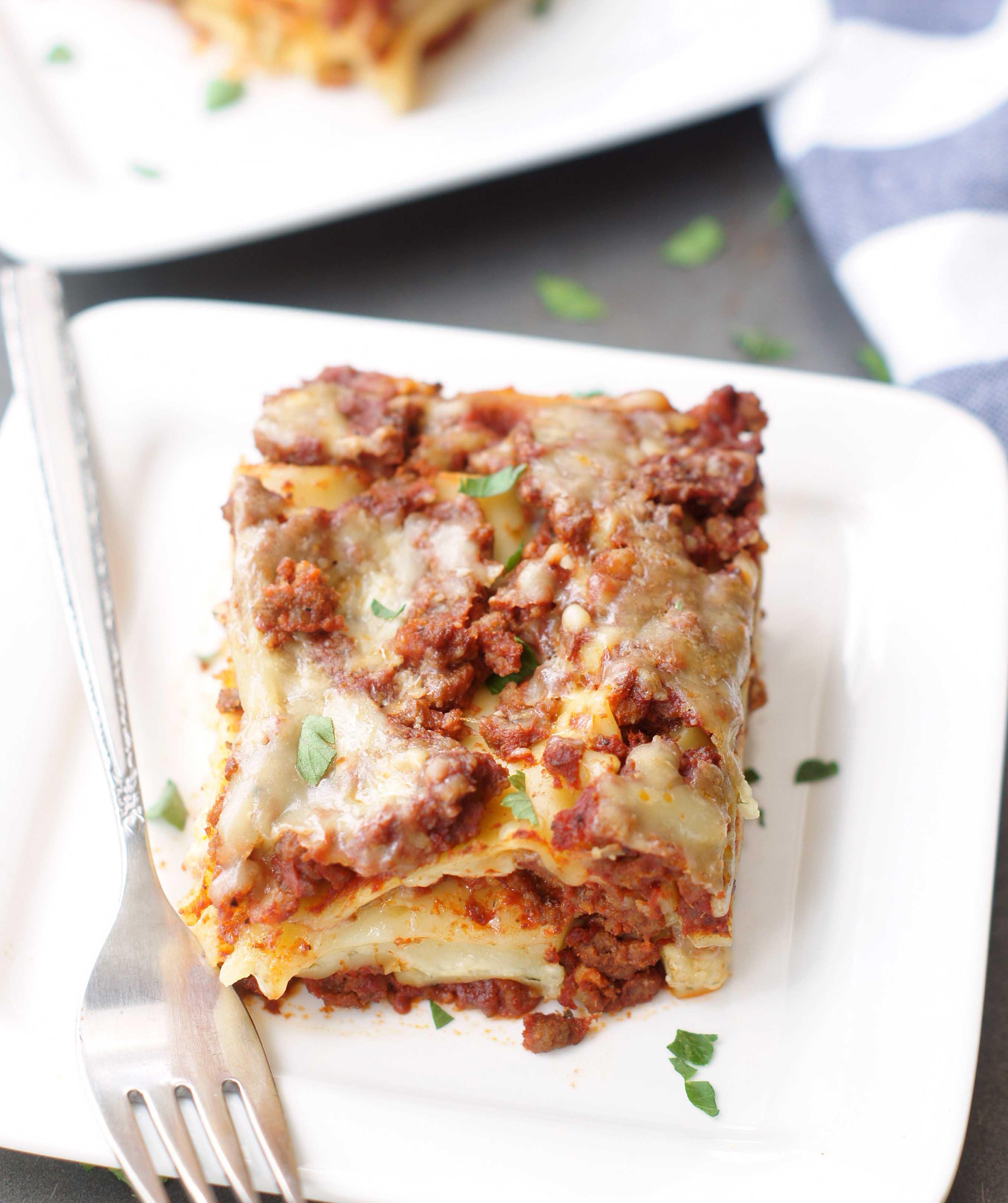 Classic Lasagne Classic Lasagna 5boysbaker