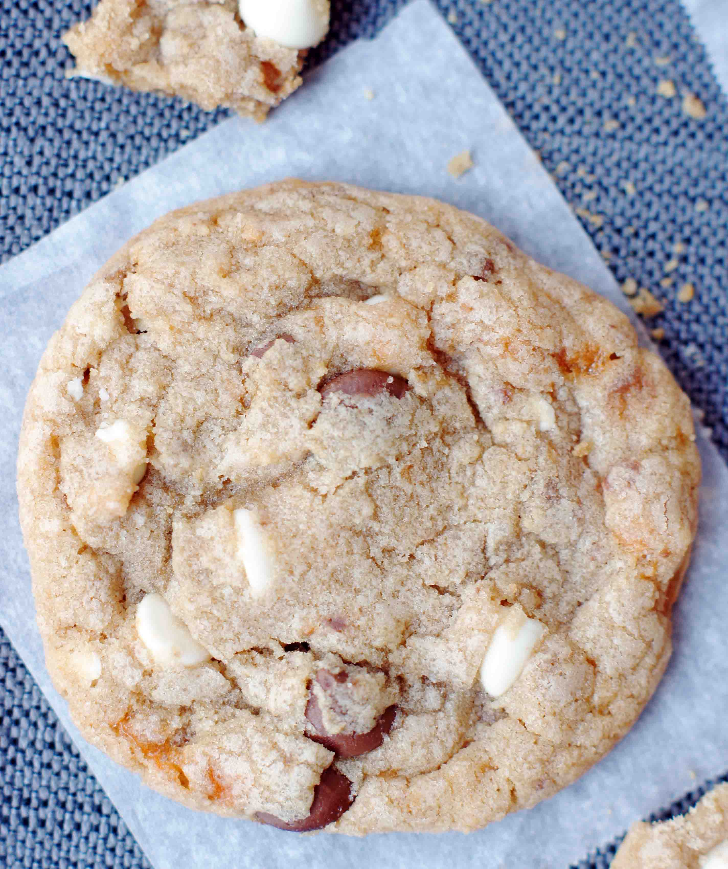 ... Butterfinger Cookies are buttery, crispy & slightly chewy. So, so good