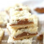 Dulce de Leche Butter Crumb Bars