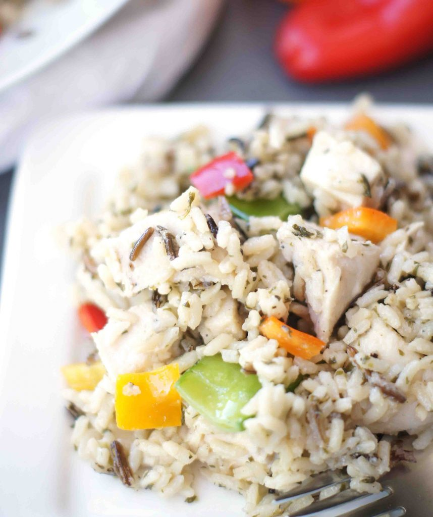 Santa Rosa Rice Salad