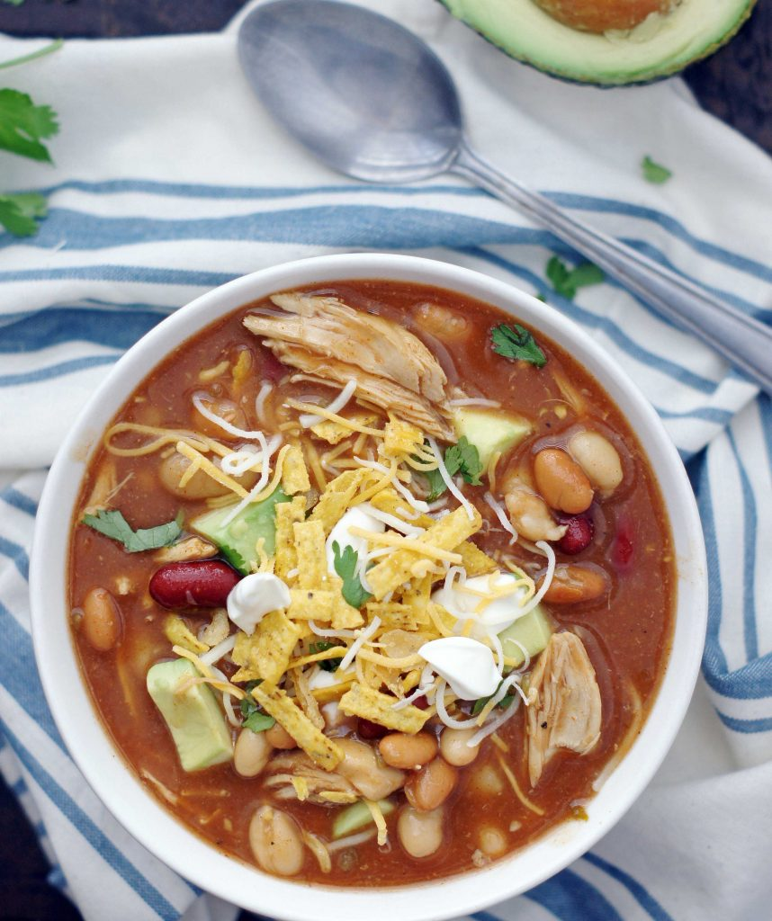 slow-cooker-smoky-sweet-bbq-chicken-chili