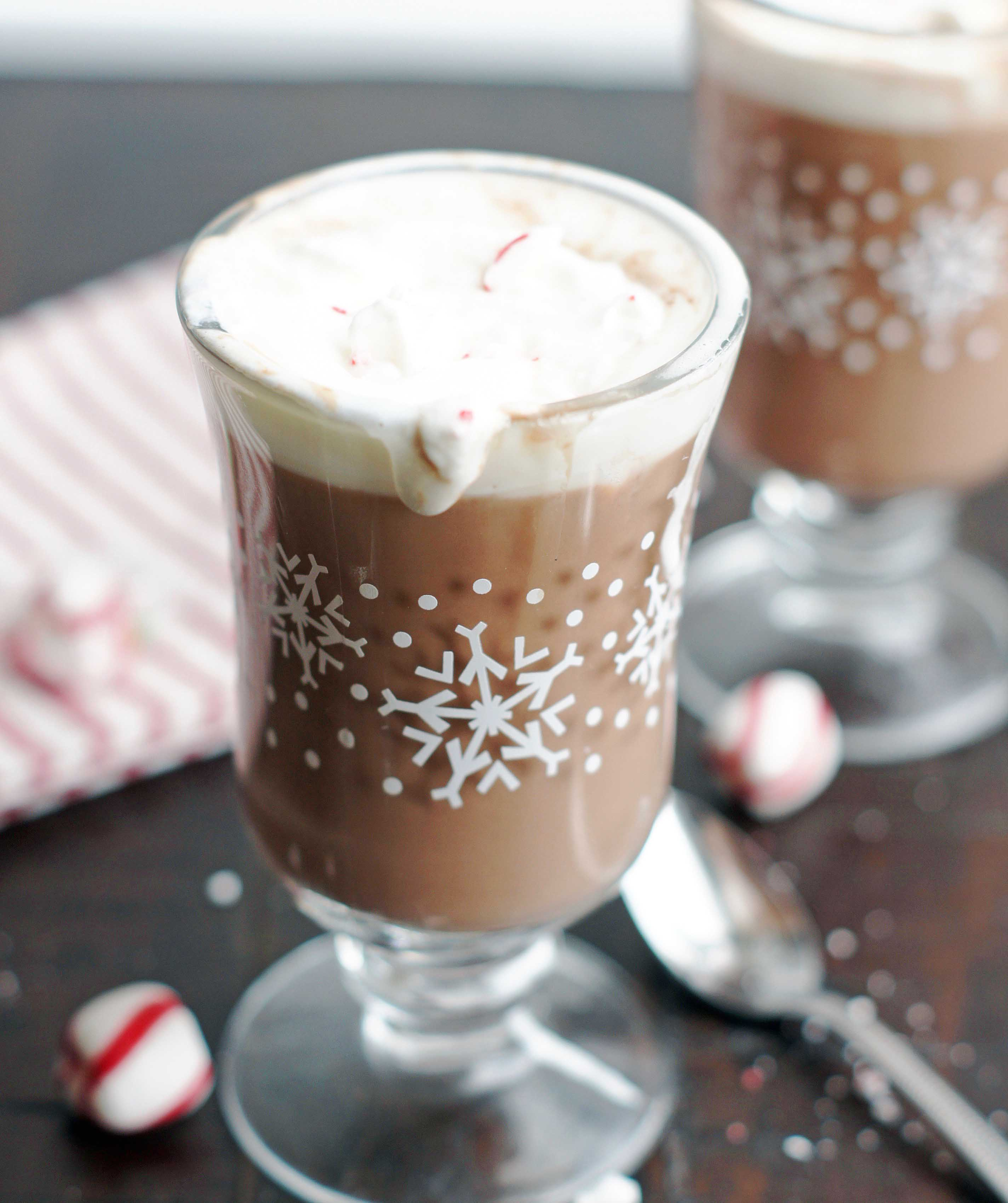 This Creamy Hot Chocolate is chocolatey goodness in a cup. It's rich ...