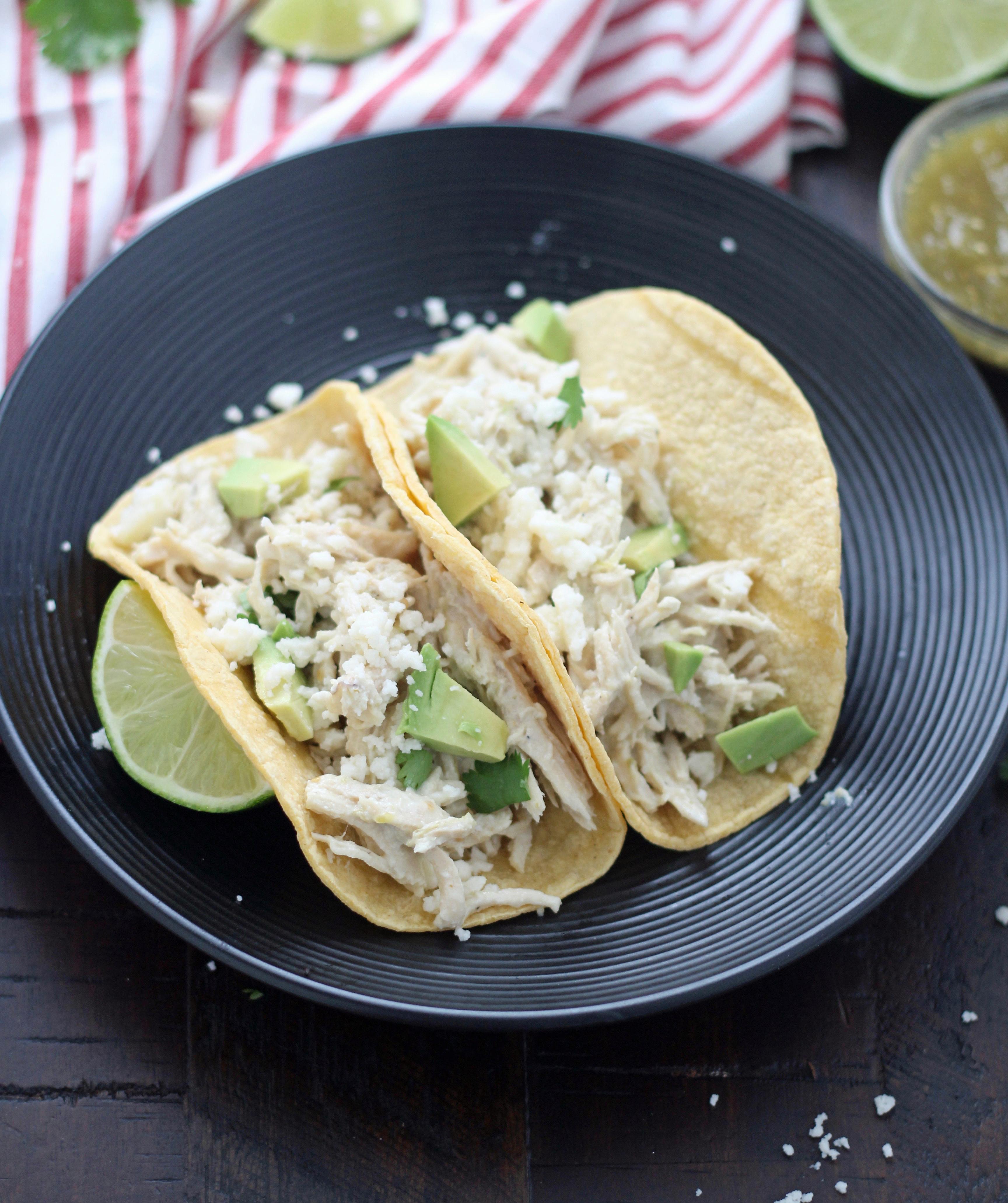Slow Cooker 5-Ingredient Creamy Salsa Verde Chicken forecast