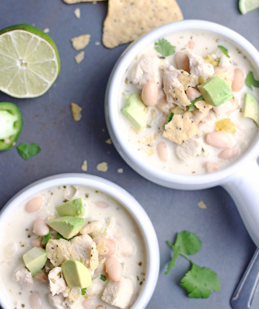 30-Minute Creamy White Chicken Chili 2