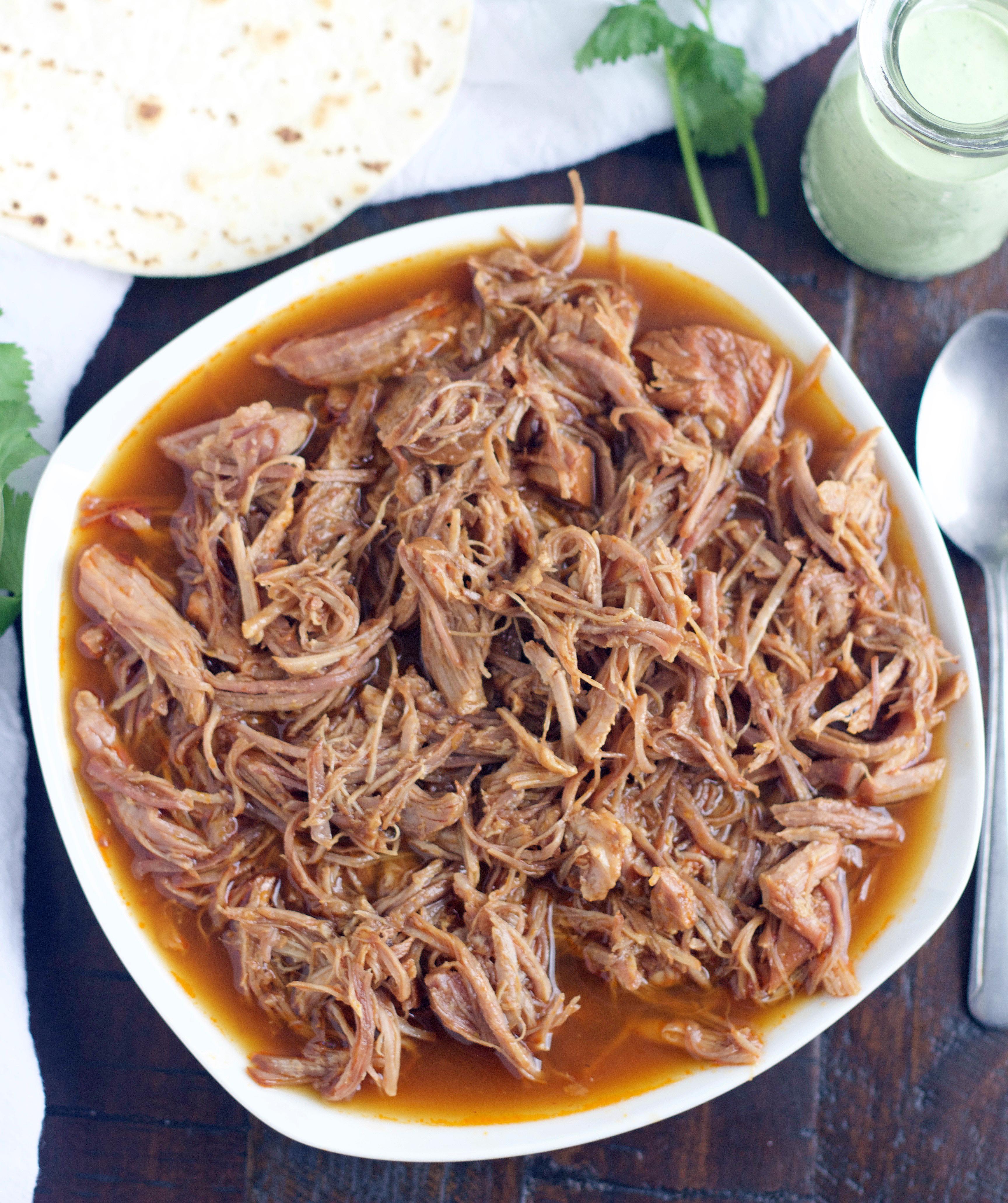 Cafe Rio Sweet Pork Crock Pot Recipe