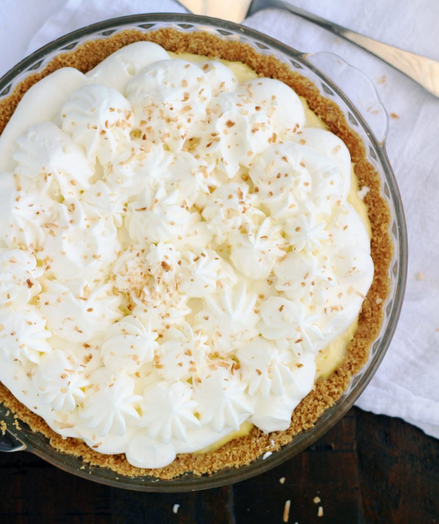 Coconut Cream Pie - 5BoysBaker