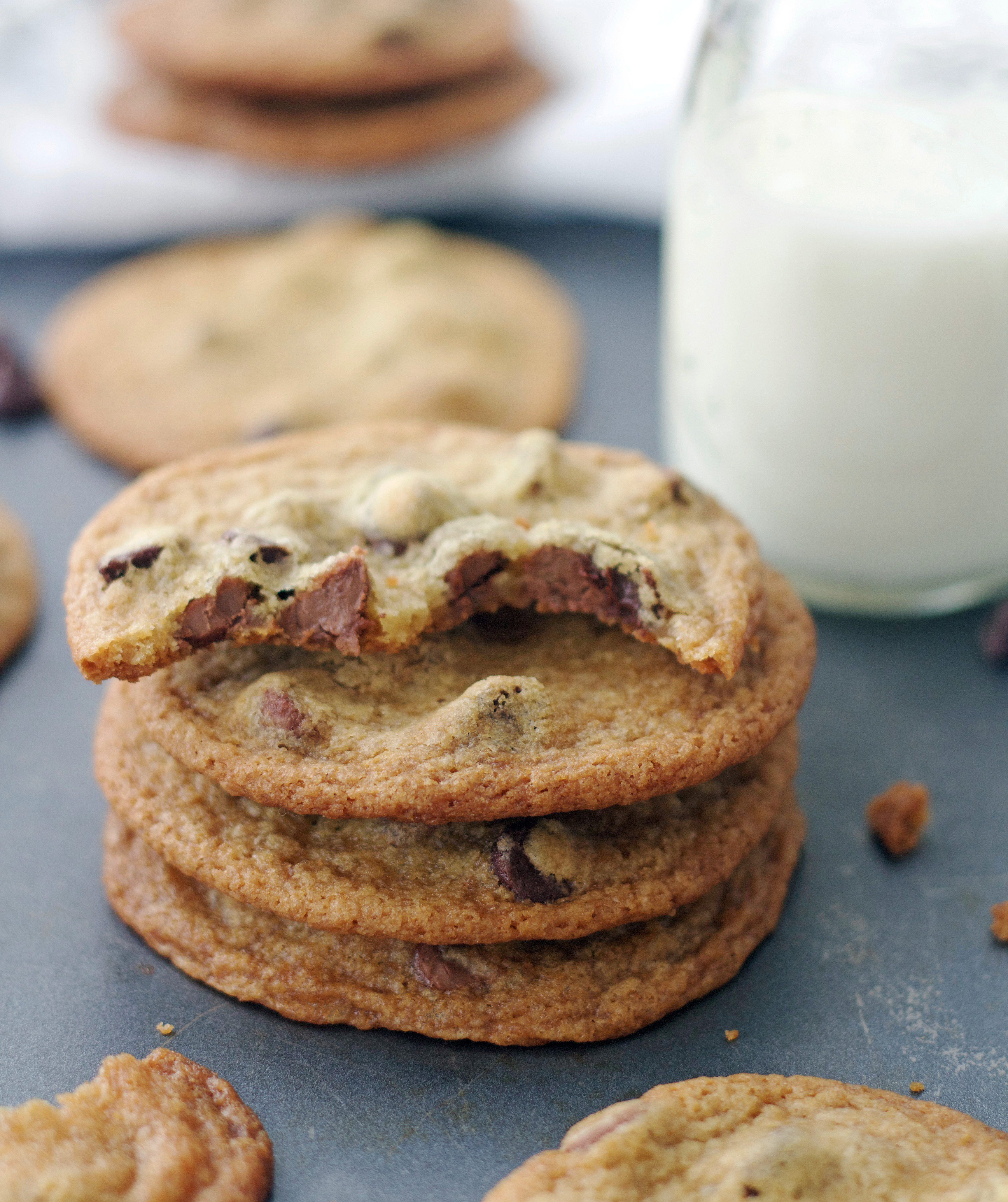 Thin Crispy Chocolate Chip Cookies America S Test Kitchen