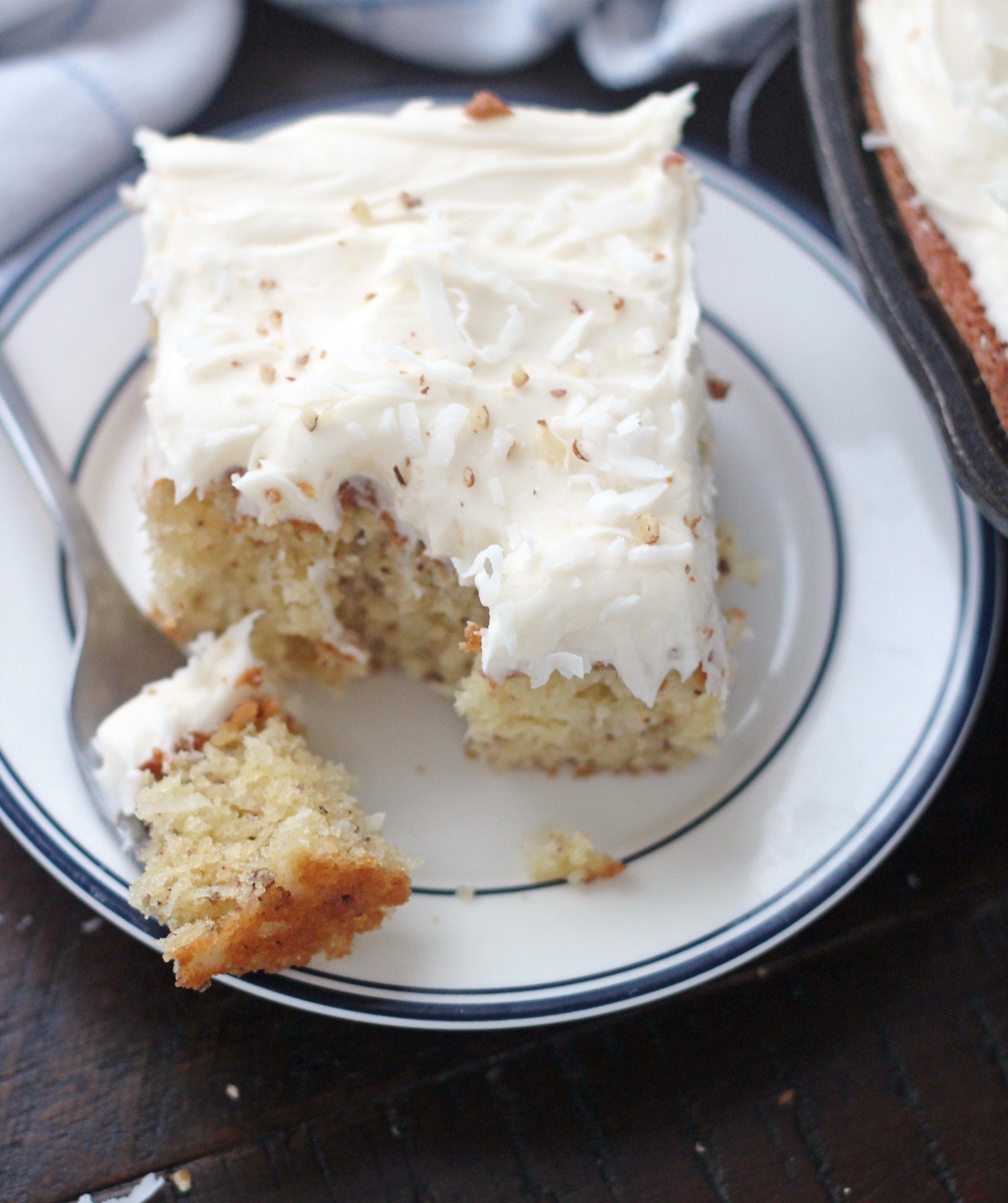 Italian Cream Skillet Cake 5 Boys Baker