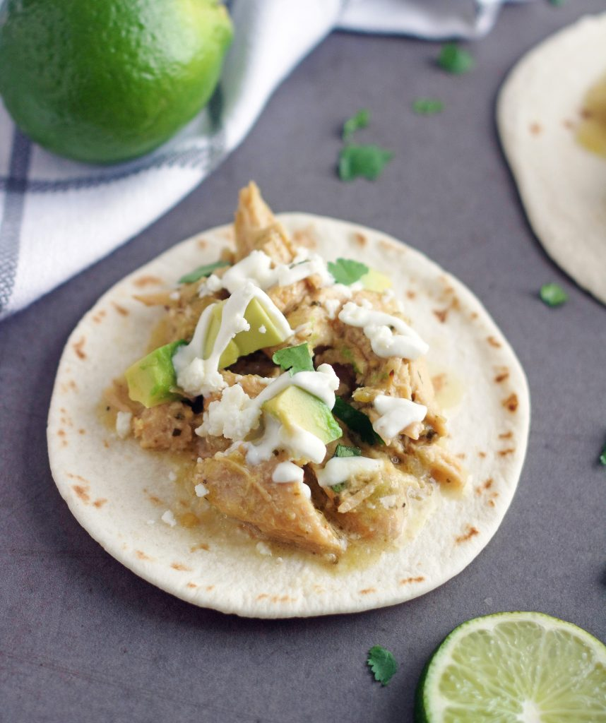 a Zesty Lime Chicken Taco