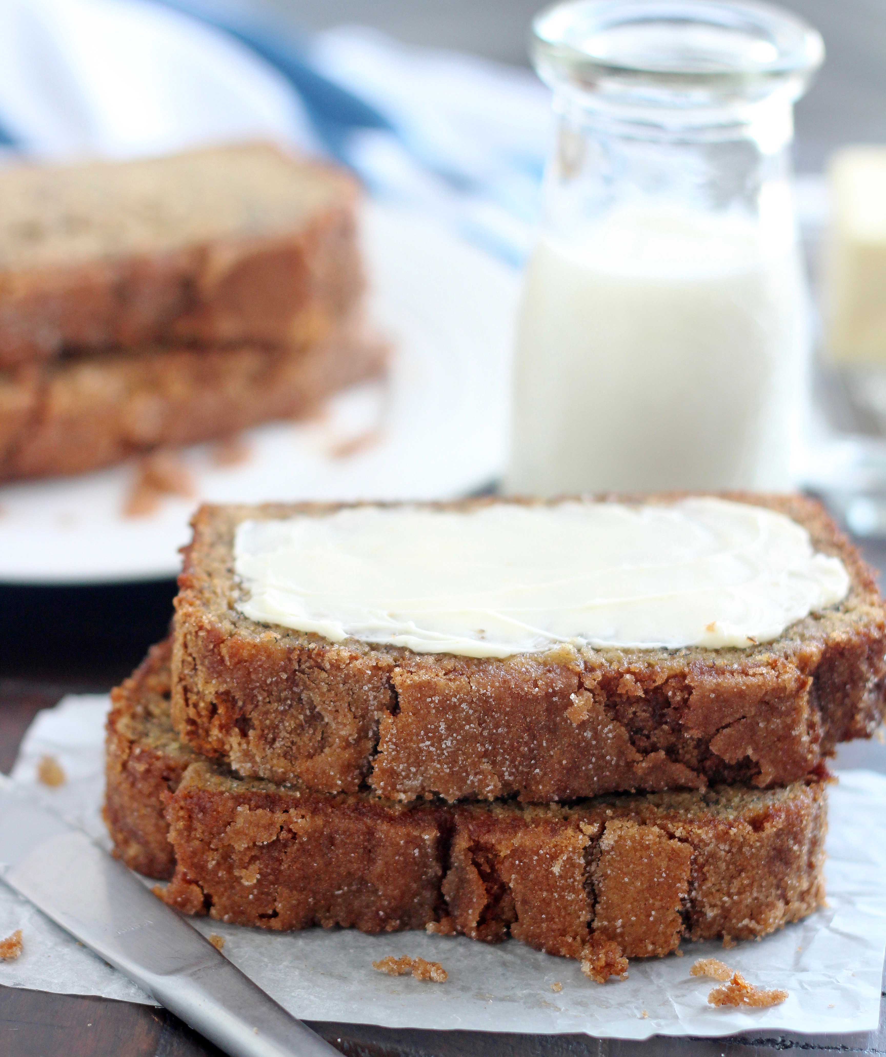 Whole grain banana bread 2018 recipe of the year 5 boys baker king arthur flour declared this whole grain banana bread their 2018 recipe of the year and for very good reason so flavorful moist and holy moly so good forumfinder Gallery