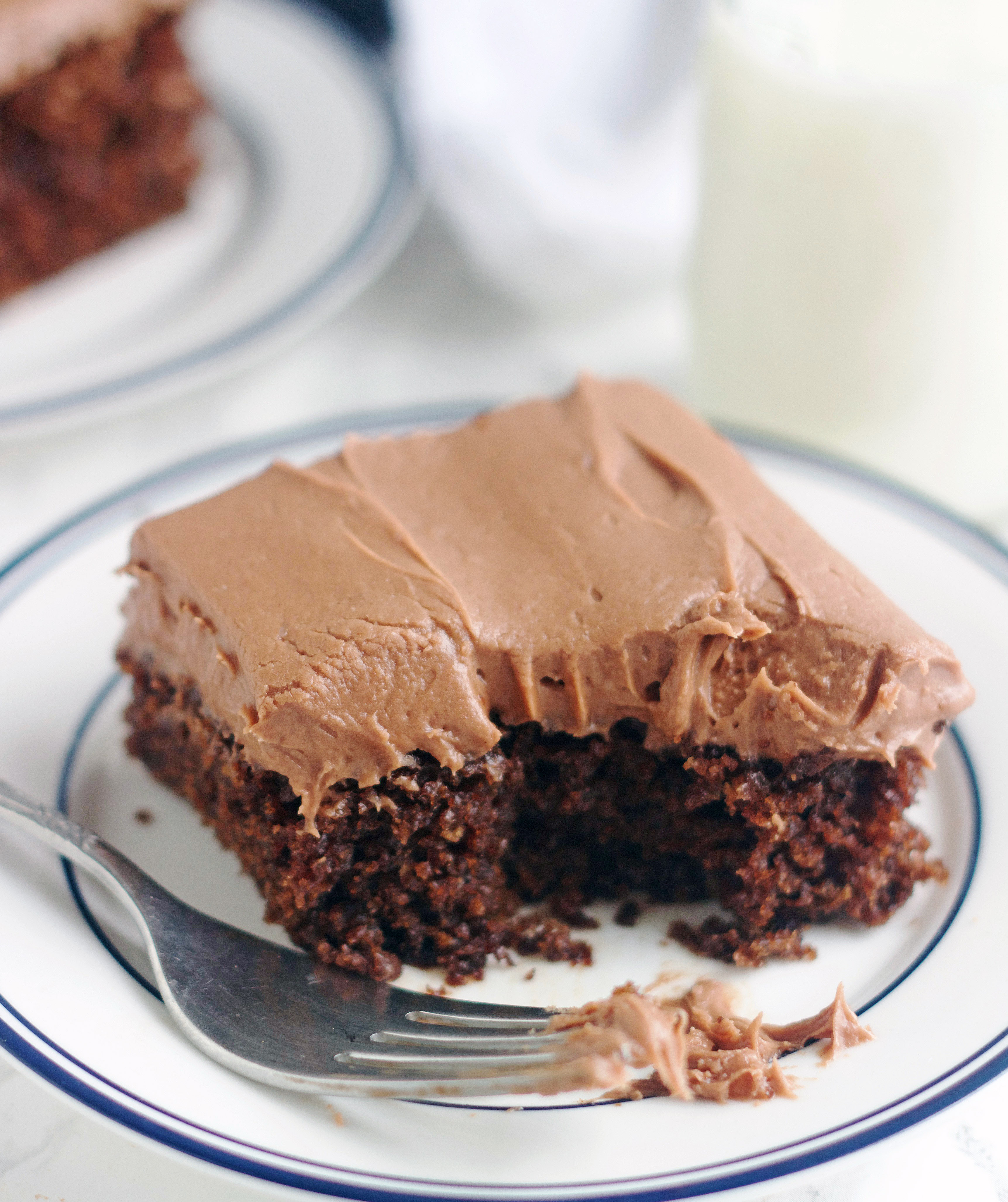 Chocolate Dump It Cake 5 Boys Baker