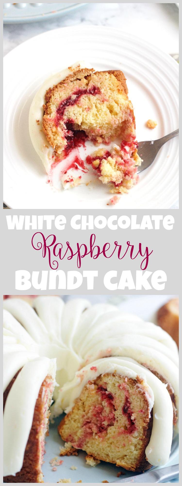 Nothing Bundt Cakes White Chocolate