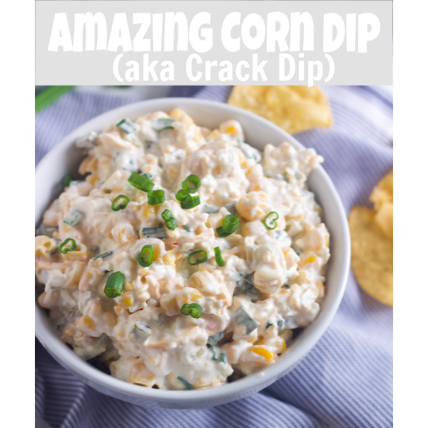 Crack Corn Dip on a chip