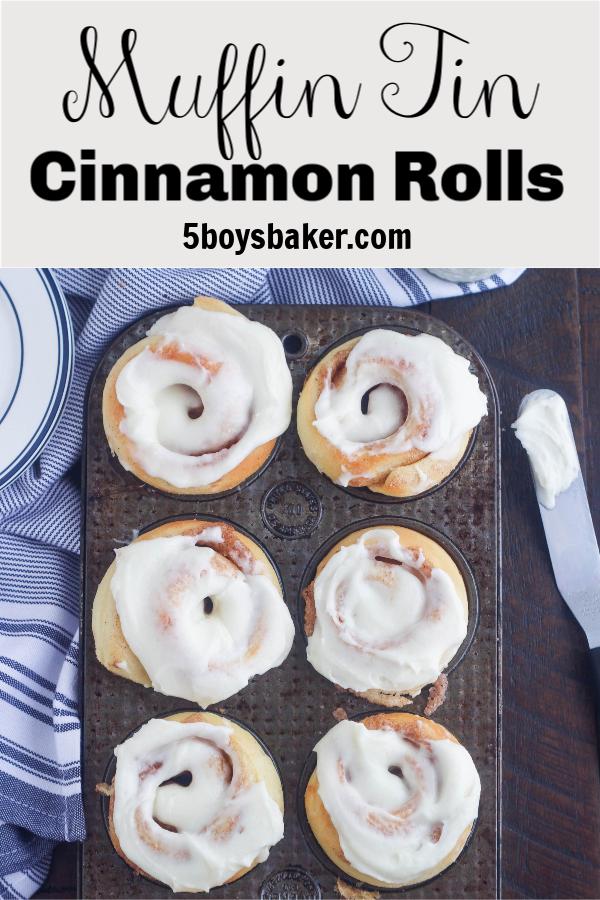 muffin tin cinnamon rolls pin